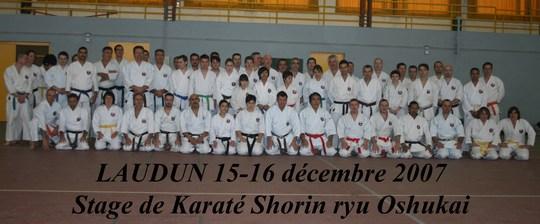 Stage de Laudun 15/12/2007