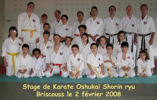 Stage de Briscouss 01/02/2008