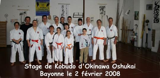 Stage de Bayonne 02/02/2008