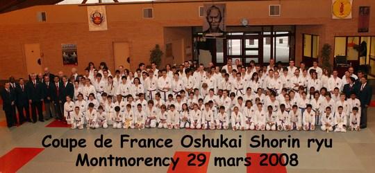 Coupe de France Shorin Ryu 29/03/2008