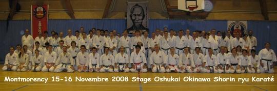 Stage Oshukai Karaté 15-16/11 à Montmorency
