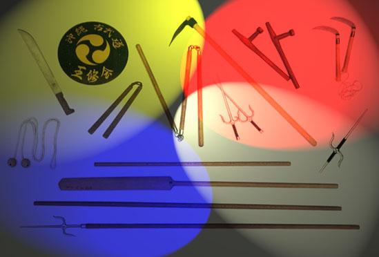 Les armes du Kobudo d'Okinawa