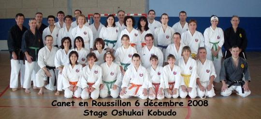 Stage de Kobudo à Canet 6-7/12 2008