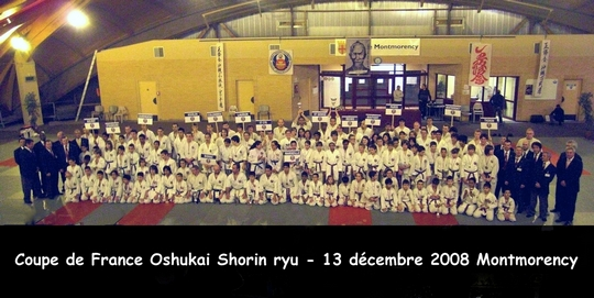 Coupe de France Oshukai Shorin ryu 13/12/2008