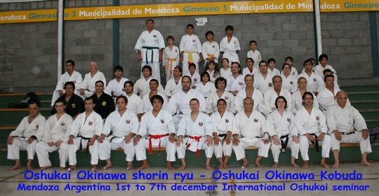 Stage Oshukai Argentine 1-8/12 2008