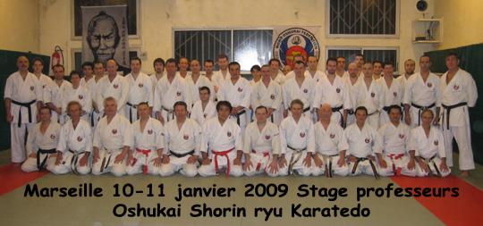 Stage Marseille 10-11 janvier 2009