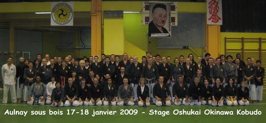 Stage de Kobudo 17-18/01/09 Aulnay sous bois
