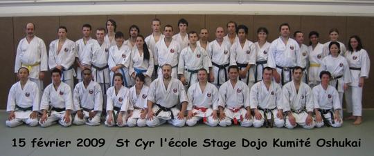 Stage Dojo Kumite St Cyr l'Ecole du 15/02/2009