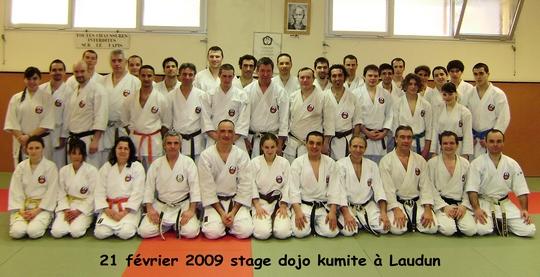 Stage Dojo Kumite Laudun 21/02/2009