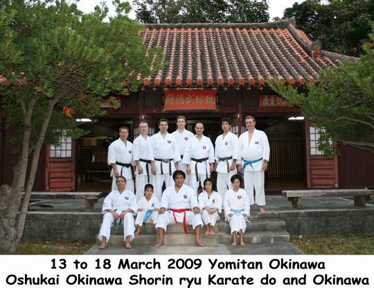 Stage de Yomitan mars 2009