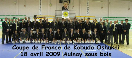 Coupe de France Oshukai Kobudo 18/04/2009