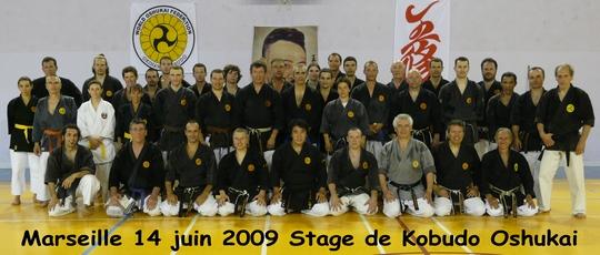 Stage de Kobudo à Marseille du 14/06/2009