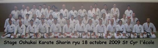 Stage Dodjo Kumite 18/10/09 St Cyr
