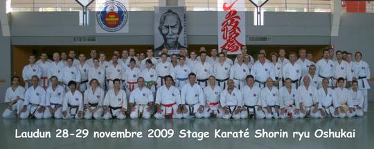 Stage de Laudun 28-29 Nov 2009