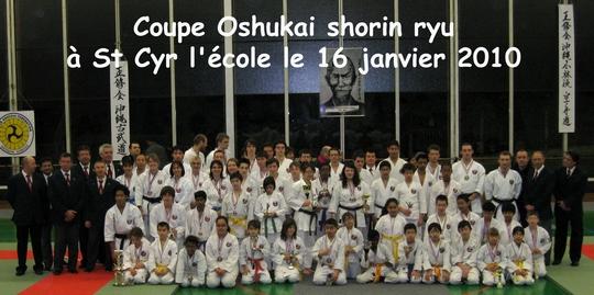 Coupe du Nord Oshukai Shorin ryu 16/01/2010