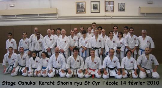 Stage Dojo Kumite St-Cyr 14/02/10
