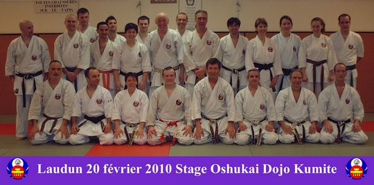 Stage Dojo Kumite à Laudun 20/02/10