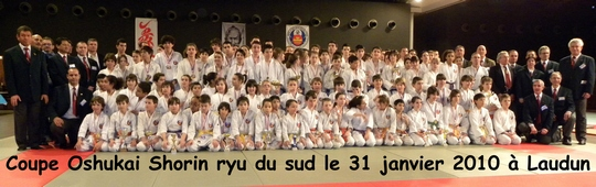 coupe du sud Karate Oshukai