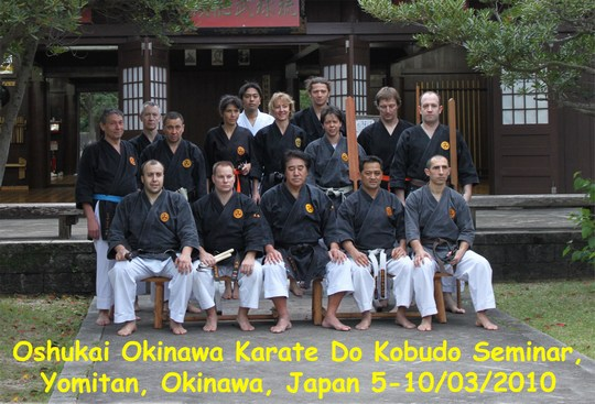 Stage Okinawa mars 2010