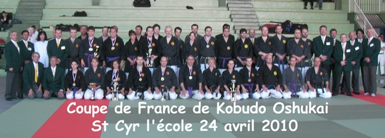 Coupe de France Oshukai avril 2010