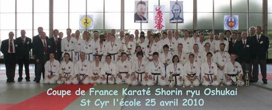 coupe de france karate oshukai 2010