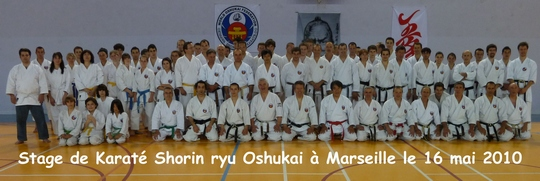 Stage Shorin Ryu de Marseille – 16 mai 2010
