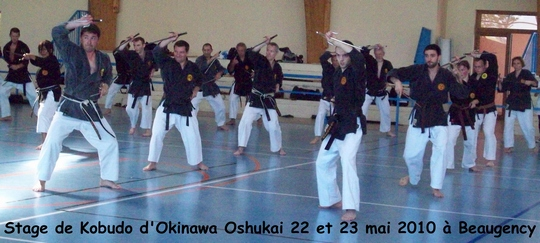 Stage Kobudo à Beaugency – 22-23 MAI 2010