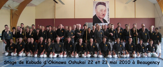 groupe kobudo beaugency - mai 2010