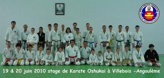 Stage Oshukai de Villebois des 19 et 20 juin 2010
