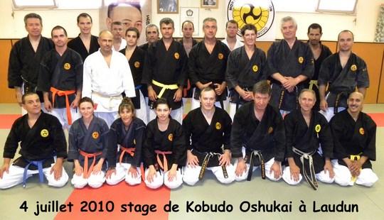 Stage Oshukai de Kobudo – Laudun 04/07/2010