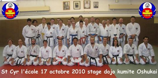 Stage Sempai Oshukai du 17 octobre 2010