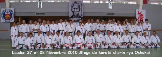 Stage Shorin Ryu de Laudun 27-28-novembre-2010
