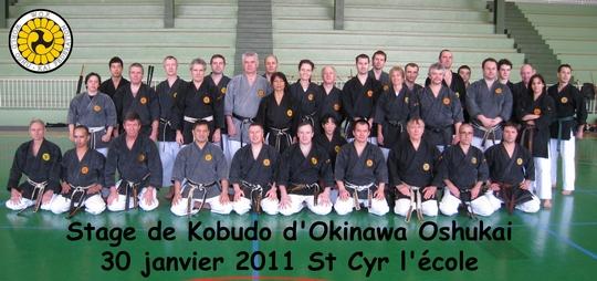 Stage Oshukai de Kobudo St Cyr 2011