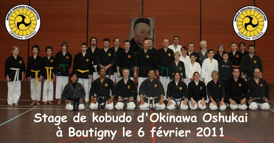 Stage de Kobudo à Boutigny