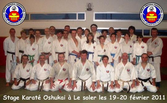 Stage Oshukai de Karate Le Soler 2011