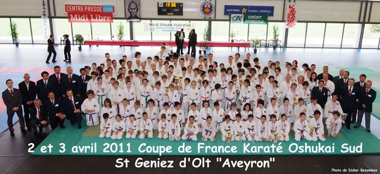 Coupe de France Karate Oshukai de la région Sud
