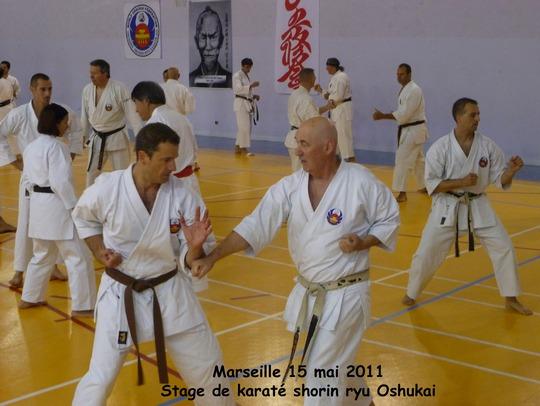 Stage Karate Oshukai de Marseille – mai 2011