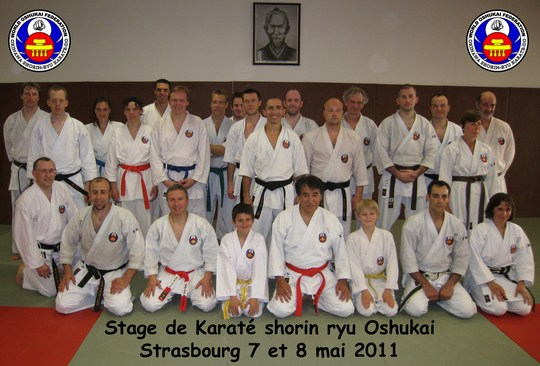 Stage 2011 de Karate Oshukai à Strasbourg