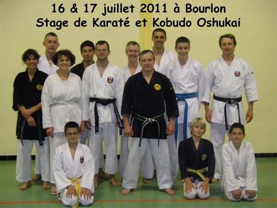 Stage Oshukai de Bourlon – Juillet 2011