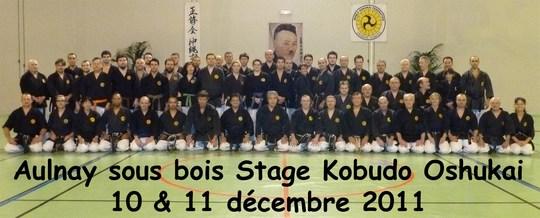 Aulnay – Stage de Kobudo Oshukai