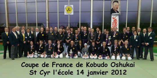 Coupe de france Oshukai de Kobudo – Jan 2012