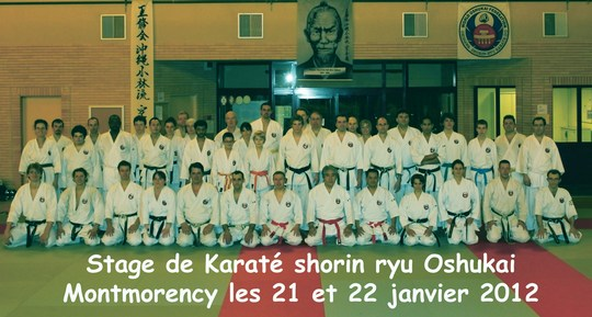 stage de karate Oshukai - Montmorency