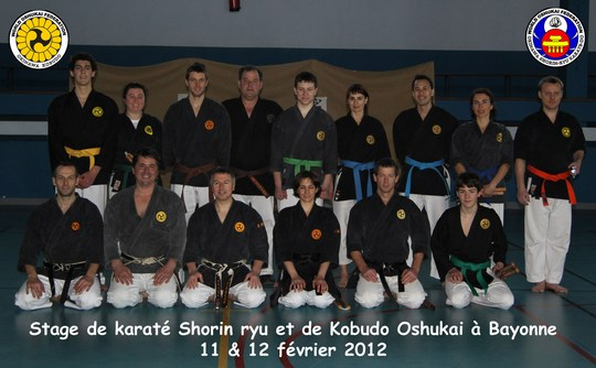 Stage de Bayonne – karate et Kobudo Oshukai