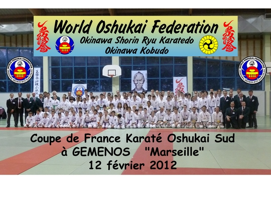 Coupe du SUD 2012 Karate Oshukai 2012