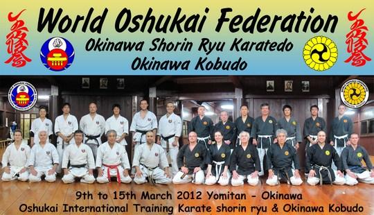 Stage International de Yomitan – mars 2012