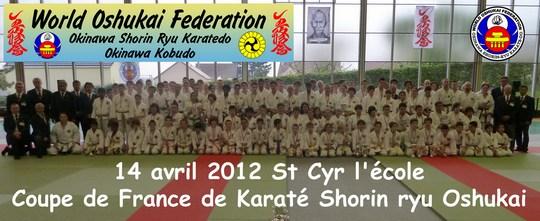 Coupe de France Karate Shorin Ryu 2012