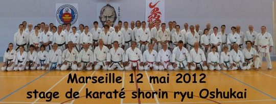 stage karate de Marseille 2012