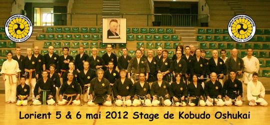 Stage Oshukai de Kobudo d'Okinawa – Lorient 2012