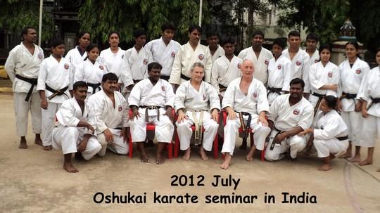 Stage de Karate et Kobudo Oshukai en Inde