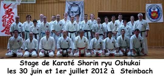 stage de Karate Steinbach